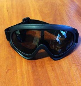 Горнолыжные сноубордические очки маска