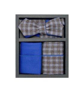 Набор №12 (галстук-бабочка, платок, запонки)