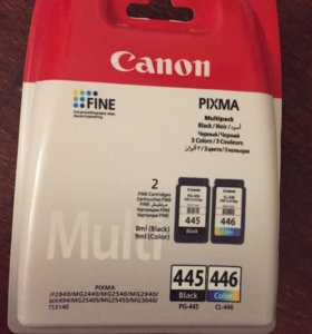 Картридж Canon Multipack PG-445/CL-446