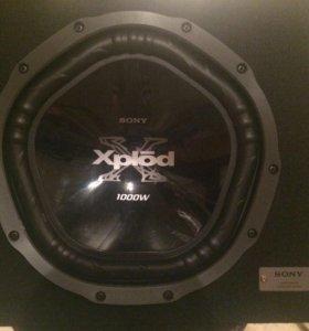 SONY XS-GTX150LE сабвуфер на 1000 ват