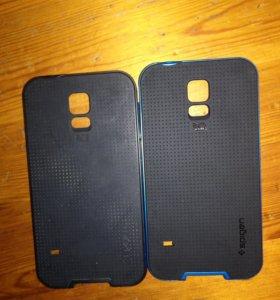 2 чехла для Samsung Galaxy S5