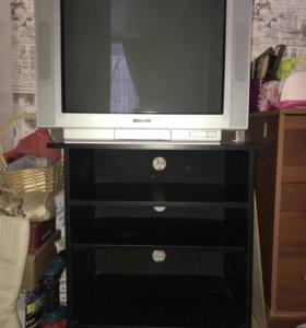 Телевизор+подставка
