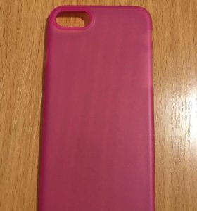 Оригинальный розовый чехол для айфон 7