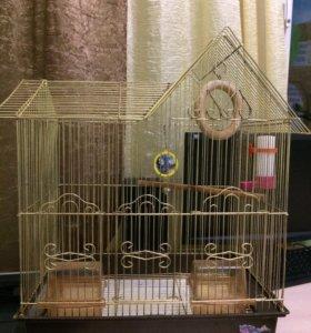 Клетка для волнистых попугаев
