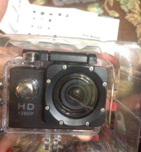 Экшен камера по типу гоу про 2000р
