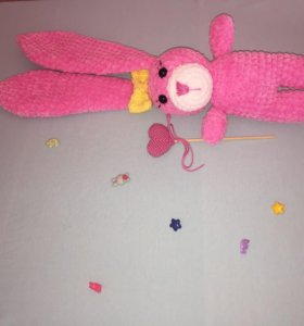 Вязаные плюшевые игрушки в наличии и на заказ