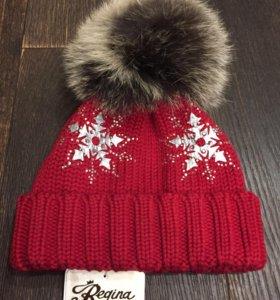 Regina, зимняя шапка для девочки 3-5 лет