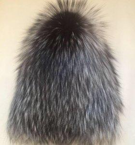 Меховая шапка новая