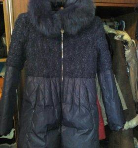 Куртка- пальто зимнее