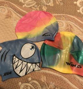 Шапочки детские для плавания