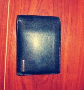 Кожаный мужской портмоне кошелек NERI KARRA