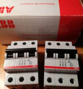 Автоматические выключатели фирмы «АВВ»