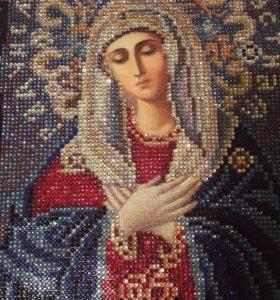 Икона алмазная вышивка