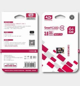 Micro SD 64Gb class 10