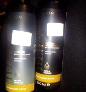 Шампунь и ополаскиватель для всех типов волос