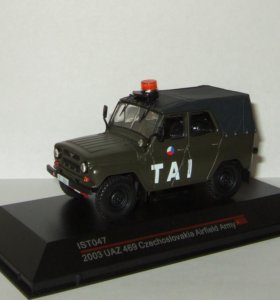 Уаз 469 TAI Полиция Чехословакии IST 1:43 IST047