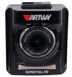 Видеорегистратор с GPS антирадаром Artway AV-710