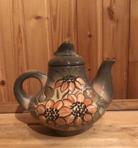 Чайник 2 л ручная роспись
