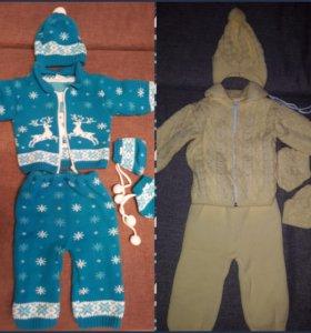 Вязанные костюмы