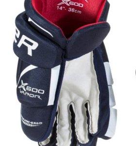 Перчатки хоккейные BAUER Vapor X600 SR. JR