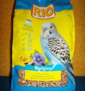 Самые качественные корма для волнистых попугаев.