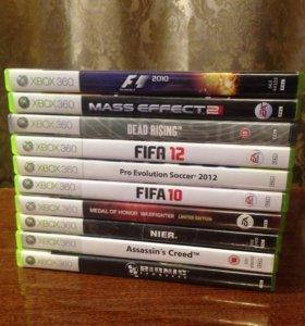 Xbox 360, лицензионные игры