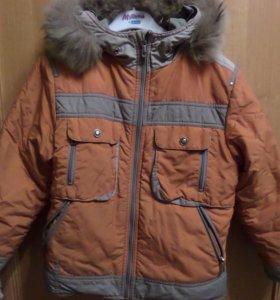 Куртка и утепленные зимние брюки на мальчика