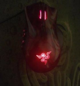 Игровая мышь Razer Naga Hex RED.