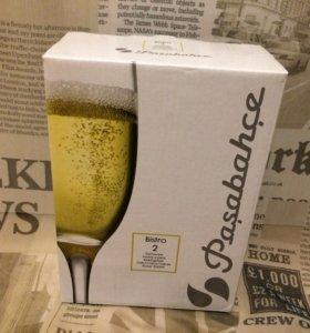 Бокалы шампанского новые