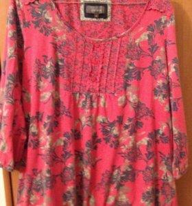 "Блуза хлопковая ""Marks Spencer"" Per una 44-46-48"