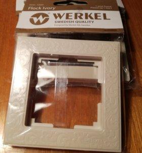 """Рамки для розеток и выключателей фирмы « WERKEL"""""""