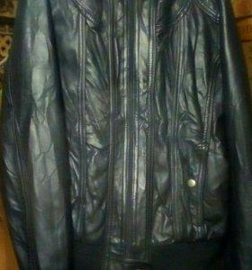 Куртка кожиная