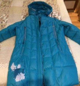 Зимняя куртка-пальто.