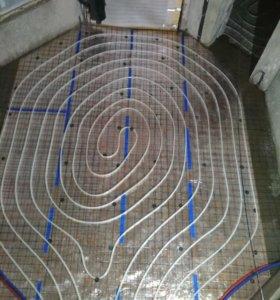Монтаж систем водоснабжения, отопления,канализации