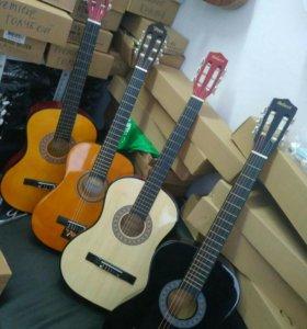 Классические и акустические гитары