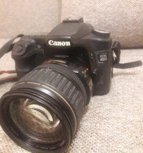 CANON EOS 40D + CANON EF 28-135 IS