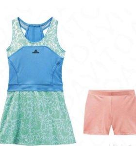 Платье+ шорты adidas