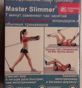 Тренажер Долинова Похудей + коврик для фитнеса