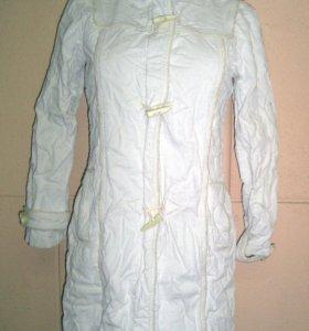 Зимне пальто M-O-T-O с капюшоном