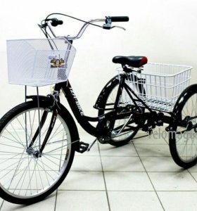 Велосипед трицикл взрослый