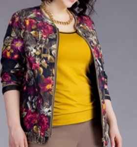 Женская куртка из плащевой ткани