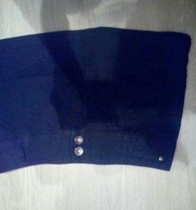 Юбка 40-42 размер джинсовая