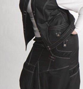 Женская юбка с карманами