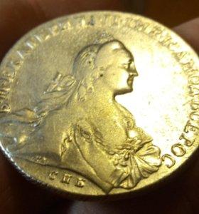 рубль 1766