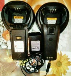 Батареи. Зарядники от рации