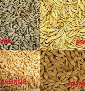 Размол зерновой