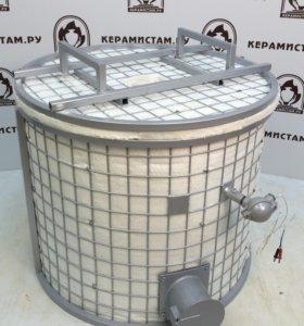 Муфельная газовая печь для обжига