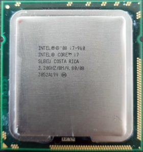Процессор Intel Core i7-960 Bloomfield + кулер