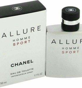 Шанель аллюр хом спорт