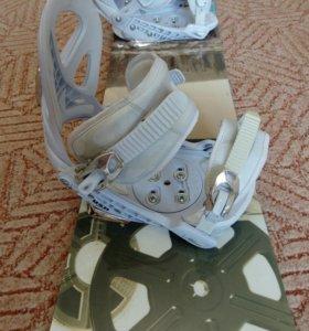 Крепления ботинок на сноуборд38-41